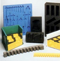 Automotive transit packaging components